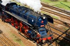 Locomotiva de vapor Albatros no movimento Fotografia de Stock Royalty Free