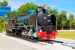 Locomotiva de vapor de Mikado Fotos de Stock
