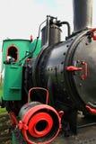 Locomotiva de vapor do calibre estreito imagens de stock royalty free