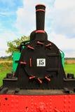 Locomotiva de vapor do calibre estreito Fotografia de Stock Royalty Free