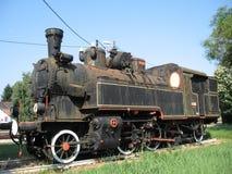 Locomotiva de vapor do monumento Imagem de Stock Royalty Free