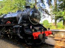 Locomotiva de vapor George Stephenson imagens de stock