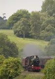 Locomotiva de vapor histórica foto de stock royalty free