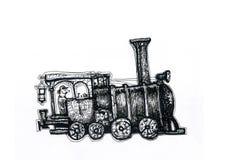 A locomotiva de vapor velha Imagem de Stock Royalty Free