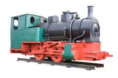 Locomotiva de vapor velha. Foto de Stock