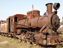 Locomotiva de vapor velha Fotografia de Stock Royalty Free