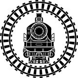 Locomotiva de vapor velha Fotografia de Stock
