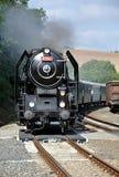 Locomotiva de vapor velha Imagem de Stock Royalty Free