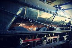 Locomotiva de vapor velha Imagens de Stock