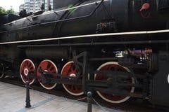 Locomotiva de vapor velha, nostálgico, completo da idade imagem de stock royalty free