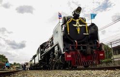 Locomotiva de vapor velha o Pacífico Fotos de Stock