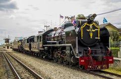 Locomotiva de vapor velha o Pacífico Fotos de Stock Royalty Free
