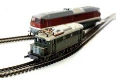 Locomotiva del giocattolo Fotografia Stock