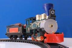 Locomotiva del giocattolo Immagine Stock