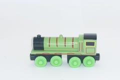 Locomotiva del giocattolo fotografia stock libera da diritti