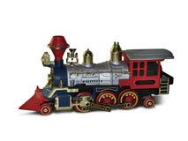 Locomotiva del giocattolo Fotografie Stock Libere da Diritti