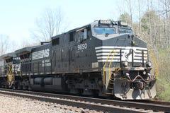 Locomotiva del sud 9650 della ferrovia della Norfolk Immagine Stock Libera da Diritti