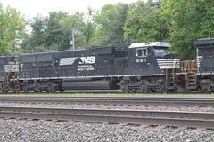 Locomotiva del sud 6911 della ferrovia della Norfolk Fotografie Stock Libere da Diritti
