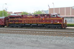 Locomotiva del sud 8102 Pensilvania di eredità della Norfolk immagine stock libera da diritti