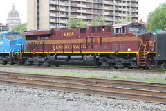 Locomotiva del sud 8102 Pensilvania di eredità della Norfolk Immagine Stock
