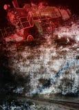 Locomotiva dell'annata Immagine Stock