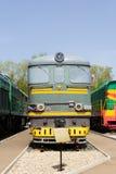 Locomotiva della strada di ferrovia Immagini Stock