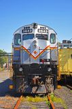 Locomotiva di diesel della ferrovia di Lackawanna, Scranton, PA, U.S.A. immagine stock