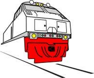 Locomotiva di GE Fotografia Stock