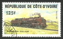 Locomotiva di Superpacific Fotografie Stock Libere da Diritti