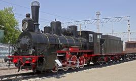 Locomotiva di vapore 1 Immagini Stock Libere da Diritti