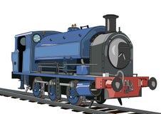 Locomotiva di vapore Illustrazione di Stock
