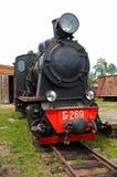 Locomotiva di vapore Fotografia Stock