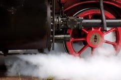 Locomotiva di vapore Immagini Stock Libere da Diritti