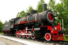 Locomotiva di vapore, farfalla Immagini Stock Libere da Diritti