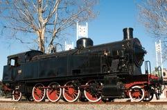 Locomotiva di vecchio stile Fotografia Stock