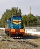 Locomotiva diesel Fotografie Stock Libere da Diritti