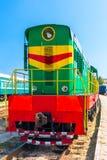 Locomotiva diesel Foto de Stock