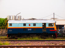 Locomotiva diesel clássica Fotografia de Stock Royalty Free