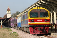 Locomotiva diesel de Hitachi nenhuma 4511 Fotos de Stock Royalty Free