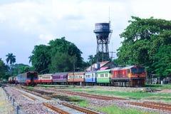 Locomotiva diesel di GE nessuna 4540 Immagini Stock