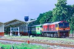 Locomotiva diesel di GE nessuna 4540 Fotografia Stock Libera da Diritti