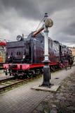 Locomotiva diesel do trem velho Fotografia de Stock