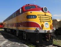 locomotiva diesel elettrica degli anni 40 Immagini Stock Libere da Diritti