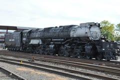 Locomotiva diesel no local histórico nacional de Steamtown em Scranton, Pensilvânia Foto de Stock Royalty Free
