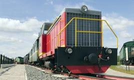 locomotiva diesel TU7A-2895 do Estreito-calibre Fotografia de Stock Royalty Free