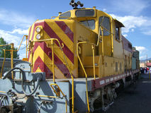 Locomotiva do motor de diesel Fotografia de Stock