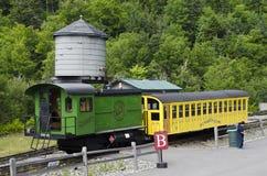 Locomotiva e trasporto al Mt Washington, NH -1 fotografia stock libera da diritti