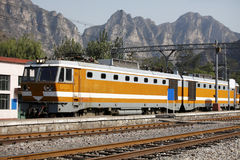 Locomotiva elétrica Fotografia de Stock Royalty Free