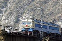 Locomotiva elettrica immagine stock