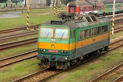 Locomotiva elettrica E.499.3 (163 107) Immagine Stock Libera da Diritti